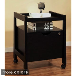 Furniture of America Tilla Tray Top Home Office File Cabinet