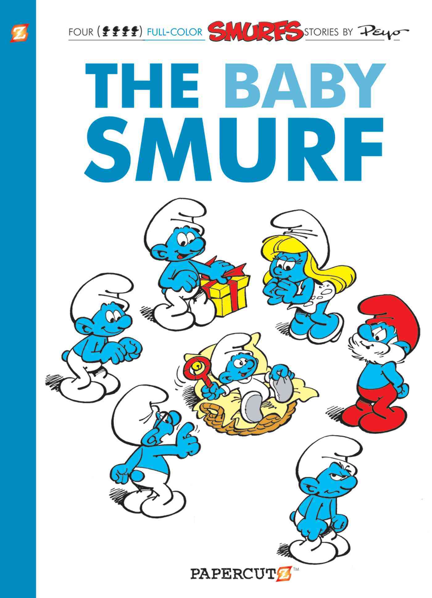 The Smurfs 14: The Baby Smurf (Hardcover)