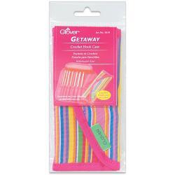 Getaway Bamboo Crochet Hook Case-