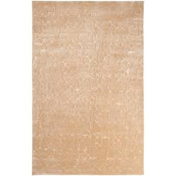 Julie Cohn Hand-knotted Beige South Hampton Abstract Design Wool Rug (9' x 13')