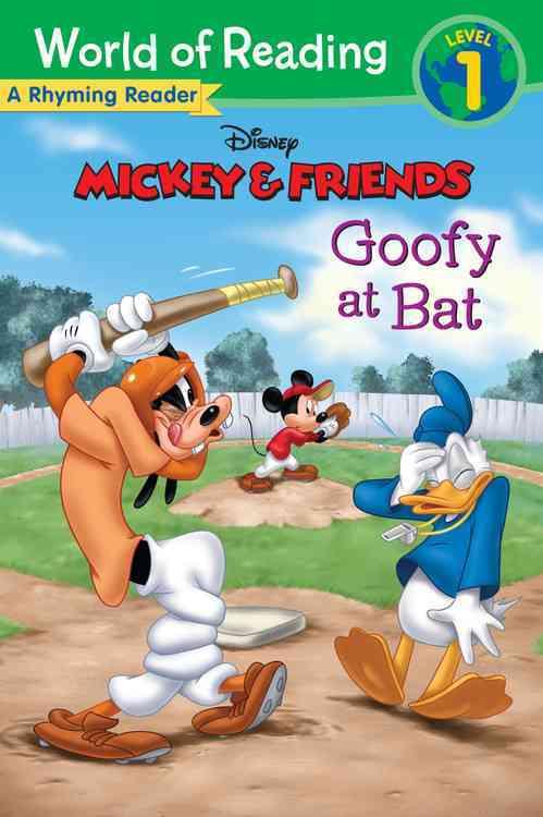 Goofy at Bat: A Rhyming Reader (Paperback)