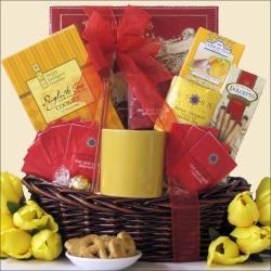Tea Treasures Small Gourmet Gift Basket