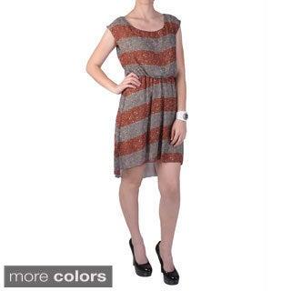 Journee Collection Juniors Lightweight Long-tail Dress