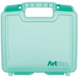 "ArtBin Quick View Deep Base Carrying Case-10.25""X3.25""X9.625"" Translucent Teal"