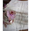 Charisma Ivory Cream Premium Hygro Cotton 24-piece Towel Set