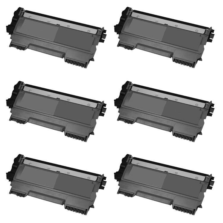 Brother TN450 Remanufactured Black Toner Cartridges (Pack of 6)