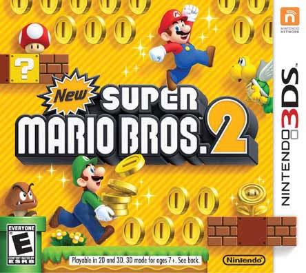 Nintendo 3DS - New Super Mario Bros 2