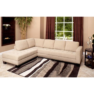 Abbyson Living Claridge Fabric Sectional