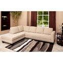 Abbyson Living Claridge Fabric Sectional Overstock