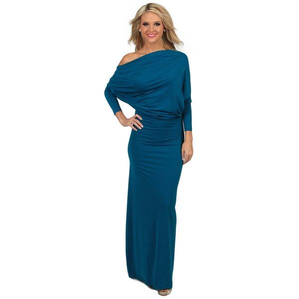 Tabeez Women's Multiway Draped Jersey Dress