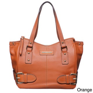 Franco Sarto Jolie Leather Tote Handbag