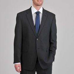 Montefino Mondo Men's 'Super 120 Merino' Charcoal Wool Suit