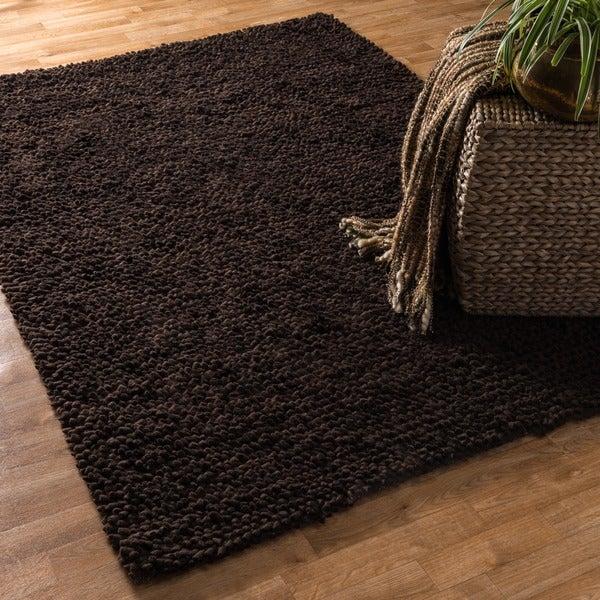 Hand Woven Florence Wool Shag Rug (7'6 x 9'6)