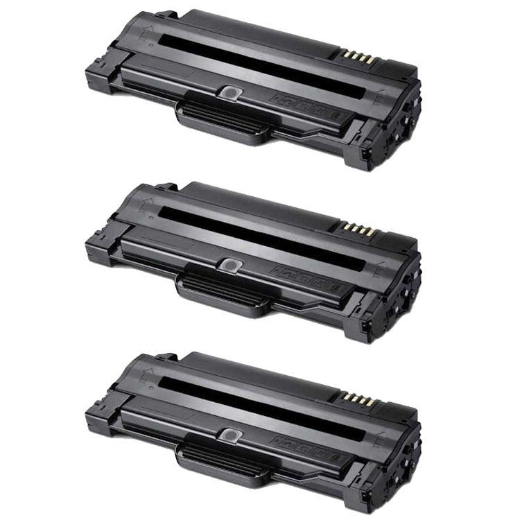 Samsung ML2525 Compatible Black Toner Cartridges (Pack of 3)