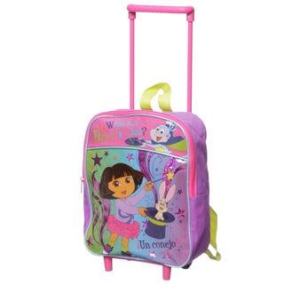 Nickelodeon Dora 12-inch Kids Rolling Backpack