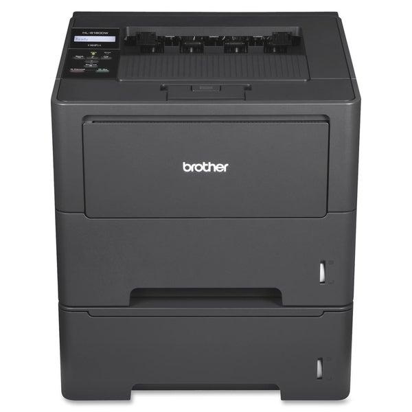 Brother HL-6180DWT Laser Printer - Monochrome - 2400 x 600 dpi Print