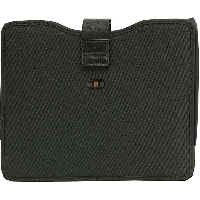 Victorinox Swiss Army 17-inch Black Laptop Sleeve