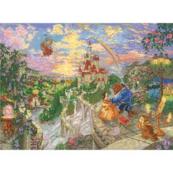 """Disney Dreams Collection By Thomas Kinkade Beauty & Beast-16""""X12"""" 18 Count"""