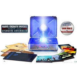 Marvel Cinematic Universe: Phase One - Avengers Assembled 10-Disc Box Set (Blu-ray 3D / Blu-ray)