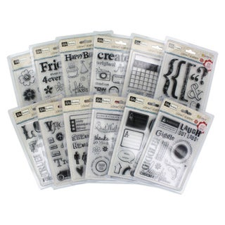Kelly Panacci Clear Stamps Assorted Set