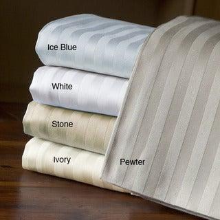 Egyptian Cotton Stripe 800 Thread Count Pillowcases (Set of 2)