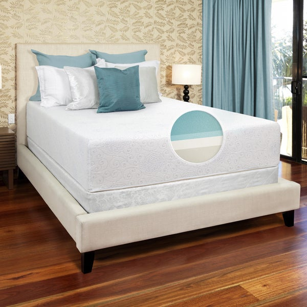 Select Luxury Medium Firm 14-inch Queen-Size Gel Memory Foam Mattress