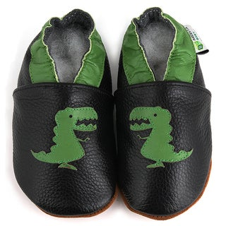 T-Rex Soft Sole Leather Baby Shoes