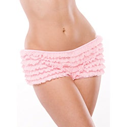 Coquette Pink Ruffle Shorts