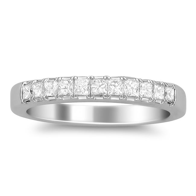14k White Gold Women's 1/2ct TDW Diamond Wedding Band (G-H, SI2)