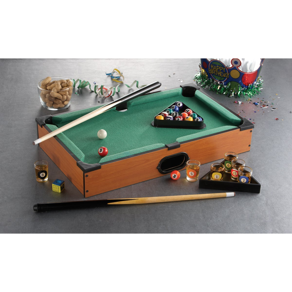 Game Night Table Top Pool