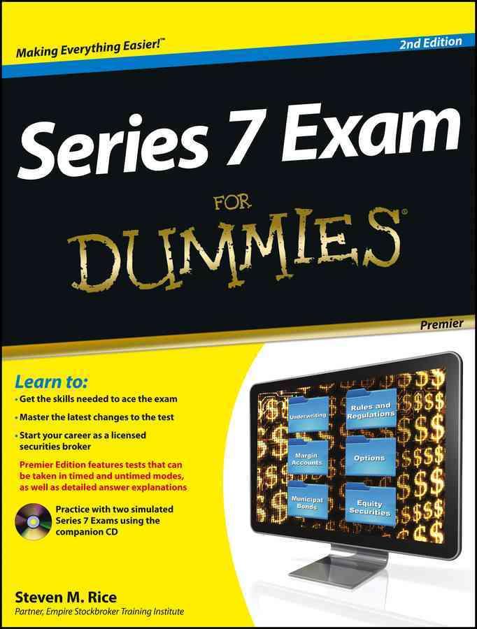 Series 7 Exam for Dummies: Premier