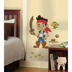 RoomMates Jake and the Neverland Pirates Peel and Stick Giant Wall Decal