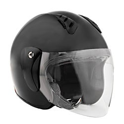 Fuel Helmets Open Face with Shield