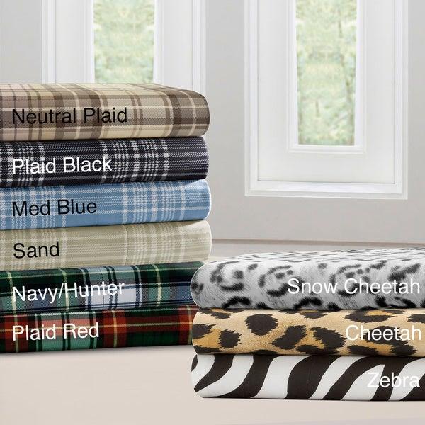 Premier Comfort Cozy Spun All Seasons Printed Sheet Set