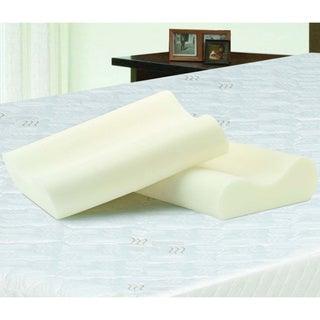 Bodipedic Essentials Contour Memory Foam Pillows (Set of 2)