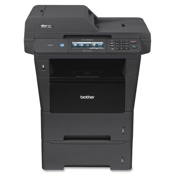 Brother MFC-8950DWT Laser Multifunction Printer - Monochrome - Plain