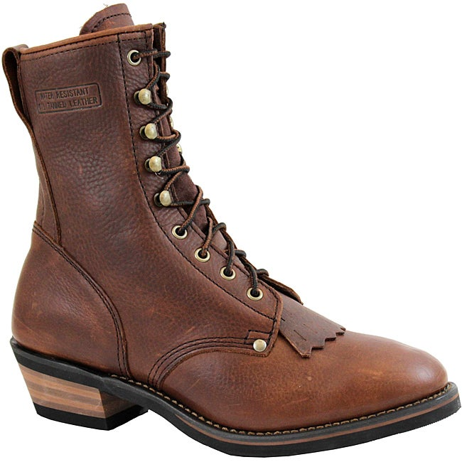 AdTec by Beston Men's Chestnut Packer Boots