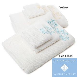 Eileen West Florentine Embroidered 6-piece Towel Set