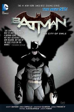 Batman 2: The City of Owls (Hardcover)