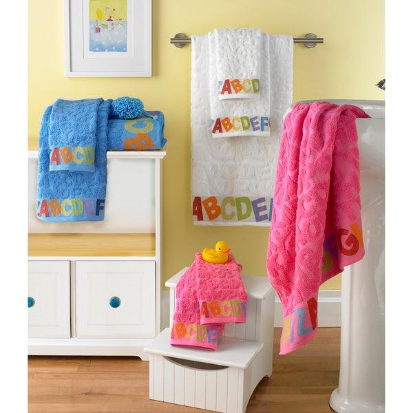 Alphabets ABC Jacquard 6-piece Towel Set
