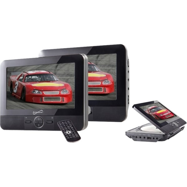 """Supersonic SC-198 Car DVD Player - 7"""" LCD"""