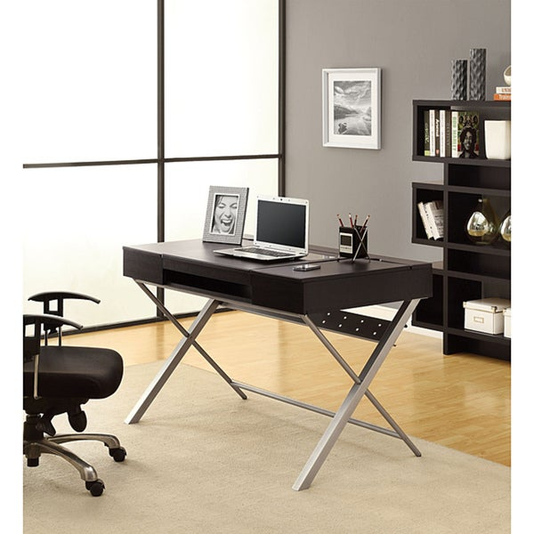 Hollow-Core 'Connect-It' Cappuccino 48-inch Tablet Desk