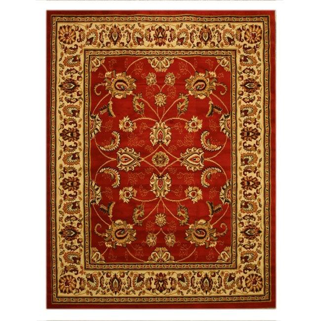 Pat Mahal Oriental Red Rug (8'2 x 9'10)