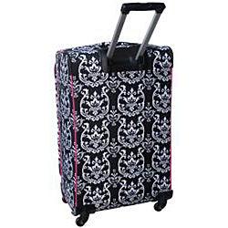 Jenni Chan Damask 360 Quattro 28-inch Hot Pink Upright Spinner