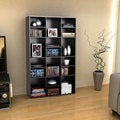 Atlantic Versa Espresso 18-Shelf Wall Unit