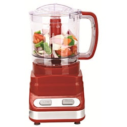 Brentwood Three Cup Red Food Processor