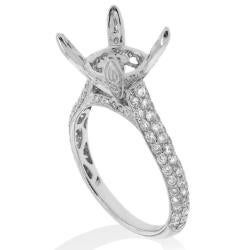 14kt White Gold 1ct TDW Diamond Engagement Ring