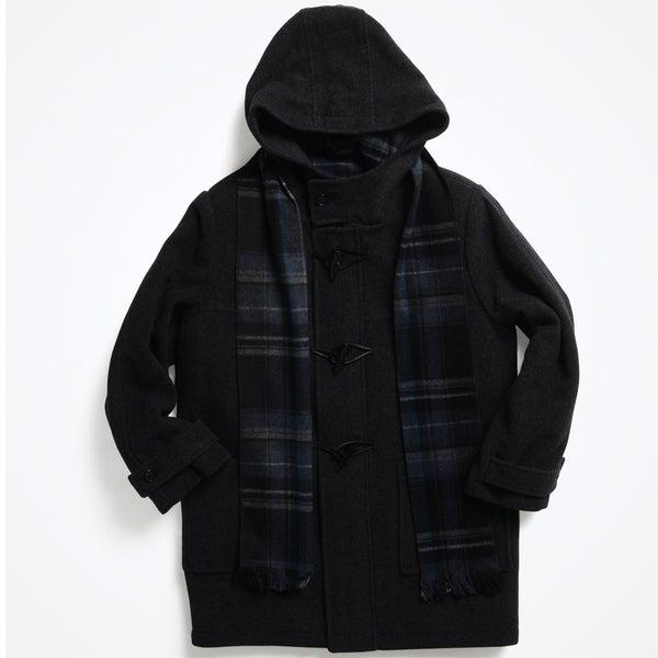 Rothschild Boy's (8-14) Wool Duffle Coat