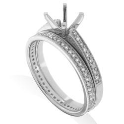 14kt White Gold 1/3ct TDW Diamond Engagement Ring