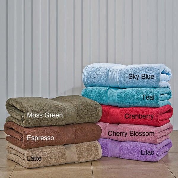 Calcot Supima Cotton Zero Twist 3-piece Towel Set